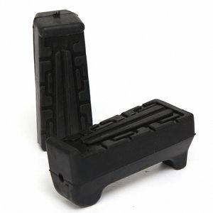 Frente negro resto del pie Peg Cauchos reposapiés Manillar Para YBR 125 de alta calidad g2Iy #
