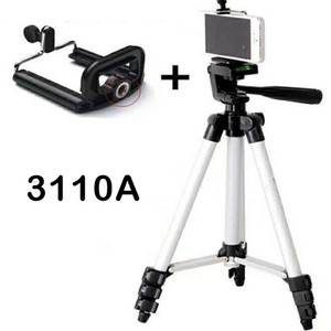 Teléfono celular trípode soporte video cámara trípode liviano portátil viaje selfie teléfono en vivo con soporte telefónico remoto