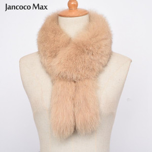 2020 New Arrivals Women's Real Fur Scarf Winter Warm Fashion Style High Quality Natural Fur Muffler S7391