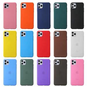 Renkli Telefon Kılıfı Için iPhone 12 11 Pro Max XS XR 8 7 6 Artı SE 2020 TPU Koruyucu Darbeye Kılıfı Kapak