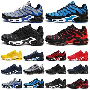 Men Sport Running Shoes New 2021Tn Mercurial Brand Sneakers Mens Tn Kpu Zapatillas chaussure Hombre Breathable Walking Shoes 40-47