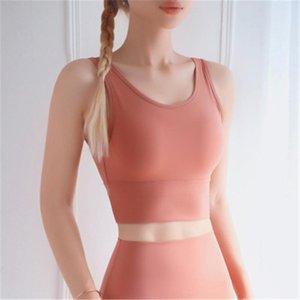 Women Gather Yoga Vest Fashion Trend Anti-burnout Sports Vest Bra Skinny Short Tops Female New Slim Fitness Running Underwear Shockproof Bra