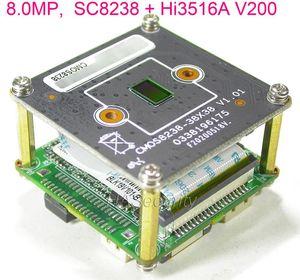 "8.0MP 8 MP 4K H.265 IPC 1 / módulo de câmara placa PCB 2,7"" SmartSens SC8238 sensor CMOS + Hi3516A V200 IP CCTV (partes opcionais)"