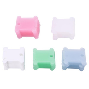 Sewing Notions & Tools 100Pcs Pack Embroidery Floss Craft Thread Bobbin Cross Stitch Storage Holder Plastic