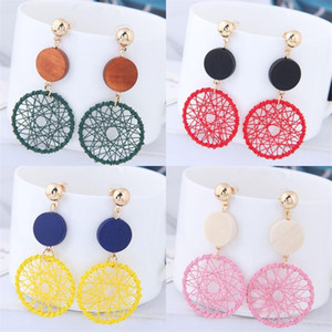 Big Circle Exaggeration Eardrop Temperament Woman Personality Versatile Earrings Sexy Long Style Earring Jewelry Accessories 1 9sfd O2