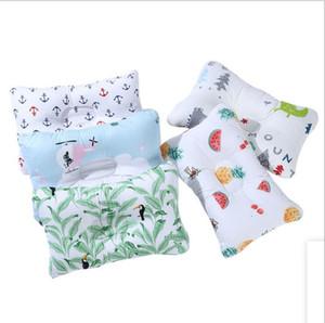 Кормящая подушка младенческая новорожденная поддержка сон вогнутая мультфильм подушка напечатана формированная подушка предотвращает плоскую детскую установку подушки моря GWB4280