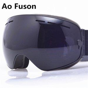 Acessórios Intersportes Esqui Esqui Óculos de Snowboard de Ski 2020 Ski. Uv400 máscara esférica óculos esqui homens mulheres grande visão profissão s ...