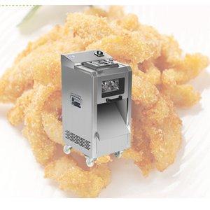 XTMAU Fonksiyonlu Tavuk Stripsslicer Tel kesici Tam otomatik Kıyma makinesi Dilimlenmiş meatShiitake makine otomatik Et dilimleyici dicing