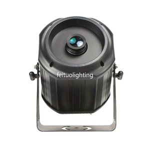 New Indoor   Outdoor 200w LED Dynamic Rotating Logo Projection Lamp One Pattern Single Color Waterproof Logo Projector Light