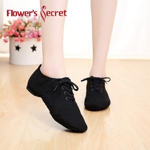 Flower's Secret Men Women Soft sole Indoor Girls Jazz Dance Shoes for women ballet pointe shoes Men's 201017