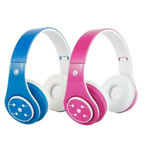 Wireless Headphones Bluetooth Headset Stereo Foldable Headphone Gaming Earphones with Microphone Support SD Card MP3 Player