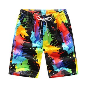 Men short 16 Style Shorts Men Summer Hawaii Print Quick Dry Short Trousers Causal Drawstring Sportwear Male Shorts Plus Size