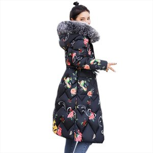 Both Sides Can Be Worn 2019 Long Down Jacket For Women Large Size Female New Hooded Fur Collar Long Down Coat Plus