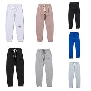 20SS Последние FOG отдых Повседневная мужская Sweatpants Streetwear Hip Hop Сыпучее Drawstring Спорт Брюки Womens