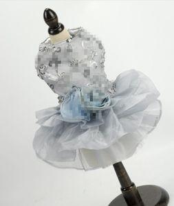 Dog clothes 2020 new fashion beautiful pet wedding dress happy pet dress free shipping 1023-1