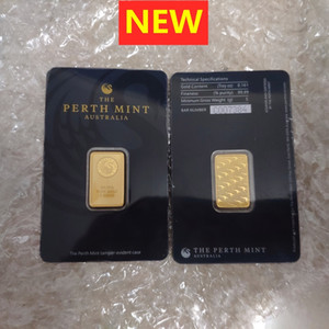 5Gram Australie Perth Mint Gold Barres 999 Fine 24k Monnaie Plaqué Or Bullion Bullion Collections Cadeaux 10G / 20g / 1oz 10pcs
