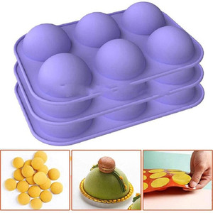 Chocolate Molds Silicone Baking Semi Sphere Silicone Molds Baking Mold for Making Kitchen Hot Chocolate Bomb Cake Jelly Dome Mousse CCE4140