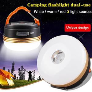Lantern Camping Light LED Flashlights Rechargeable Tents Lamp Headlamp Outdoor Lights Spotlight Equipment Tourist Mini Portable