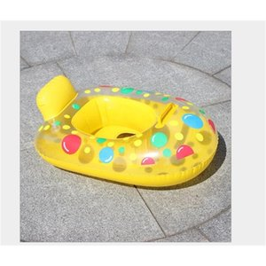 Paddle water inflatable baby yacht, water carriage, baby swimming circle, children's seat, inflatable swimming circle.