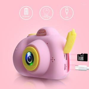 Cámaras digitales D6 Video Chirren Cámara para niños 2 pulgadas 2600W HD Pantalla HD Pequeña Policía Android Tiro cronometrado Hacer interacción entre padres y niños1