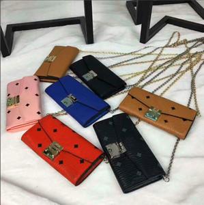 Korean version of the chain print women's leather shoulder bag, ykk zipper high-quality copper metal messenger bag, dinner wallet