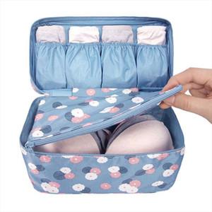 Cosmetic Bags Portable Travel Bra Underwear Case Organizer Bag Waterproof Women Cosmetic Makeup Bag Storage Bra bag