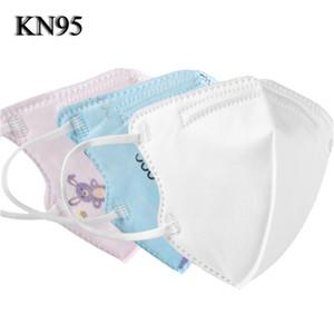 kn95 máscaras crianças moda face máscara à prova de poeira respirável e anti-gotícias estudantes podem usar a boca protetora e facema do nariz em estoque