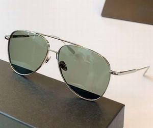 0078 Silber unerfahrener Pilot Sonnenbrille 59mm Männer Designer-Sonnenbrillen Sonnenbrillen Top-Qualität neu mit Kasten
