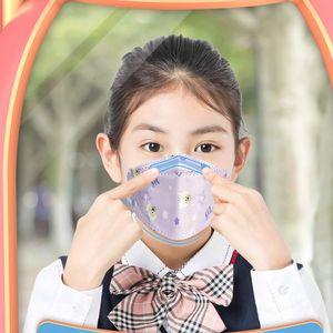 Мультфильм Банних детей маски новых дизайнеров мода KF94 маски многоцветного узора маска регулируемый пыл и матовость маска для лица бесплатной доставки