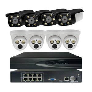 8ch 3MP POE Kit H.265+ CCTV Security System 3MP IP Camera Outdoor and Indoor Surveillance Alarm Video P2P
