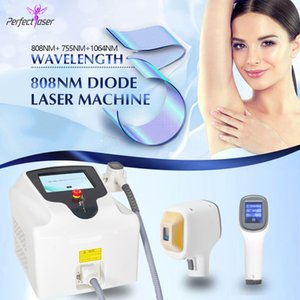 Hot selling diode laser machine 808nm permanent hair removal meet all hair removal needs painless treatment experts operation system