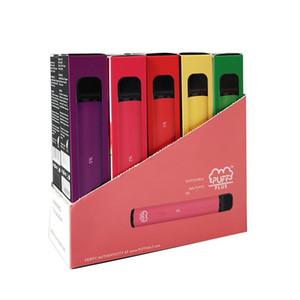 Puff Bar Plus-Einweg Vapes Geräte Pod Kit 800 puffbars 3,2 ml Kartuschen Vape leeren Pen Vape Wagen Verpackung e-Zigarette