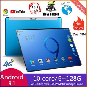 2021 Tablet Android 8.0 Octa Core 10.1 inch Tablet PC 6GB RAM 128GB ROM 8.0MP WIFI A-GPS 4G LTE 2.5D Tempered Glass IPS 1280x8001