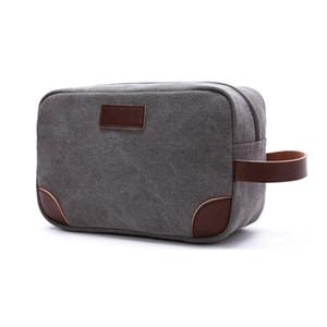 Borsa Uomo Tracolla impermeabile Personal Pocket Zipper Portafoglio Phone Strap Crossbody Holster Borse tas C1008