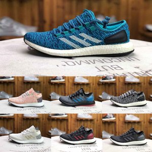 New Designer Fashion Luxury Shoes Men Pureboost Go Women Wave Runner Ultra Running Mens Training Top Quality Chaussures Sneakers Size 36-45