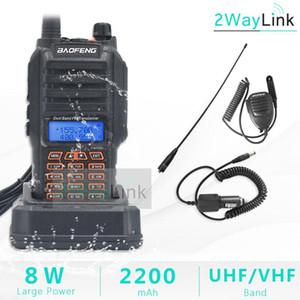 8Watts Baofeng UV-9R IP67 impermeabile a due bande UV 9R Ham Radio Walkie Talkie 10 KM UV-9R Plus UV-XR BF-A58 Series Radio portatile