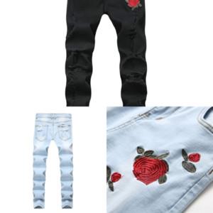 qpwld männer dünne pant jeans mädchen jeans hosen boyfriend jeans stretch gerade denim blaue mode männlich schlank
