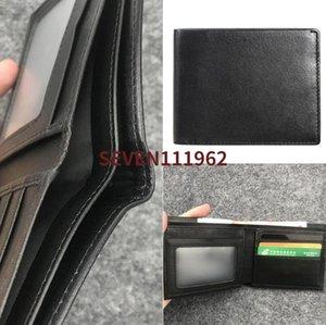 Hot Europa Designer Walle saco Bolsa transporte livre carteira de alta qualidade da manta homens padrão carteira mulheres pures high-end dos homens carteira com caixa