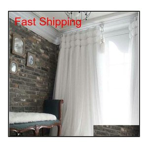 Korean Princess Style White Lant Window Blackout Curtains For Living Room Girls Bedding Room Drapes Cotinas Pa jllQCG Fight2010