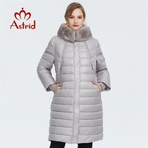 Astrid Winter New Llegada abajo Jacket Mujeres Outerwear Outer Women Thick Cotton Style Long Women Winter Coatfr-2049 201022