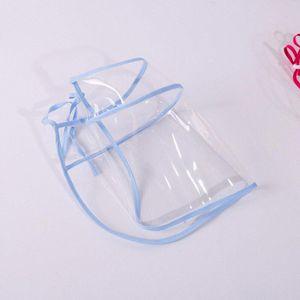 Boca transparente unisex respirable cara Maks reutilizables de tela Dustpoor Seethrough Boca Maskking cara Mascarillas Bandana z0PN #