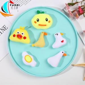 DIY Diy Bie Zhen Pim saç aksesuarları giyim sırt çantası pimi decora çocukları yavrusu sevimli peluş Broş karikatür goo tavuk satan dgEwr Sıcak