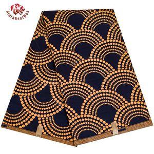 Анкара Ткань Африканский Реальный Воск Печати Ткань Bintarealwax Высокое Качество 6 Ярд 3ЯДа Африканская Ткань Для Платье для вечеринок FP6408