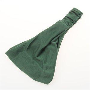 Solid Color Elastic Headband Gym Yoga Run Sport Headband Head Band Hair Wrap Cuffs for Women Gift Drop ship