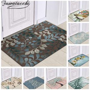 Fuwatacchi Kitchen Mat Parlor Bath Carpet Home Entrance Doormat Tapete Absorbent Living Room Floor Mats Modern Kitchen Carpets