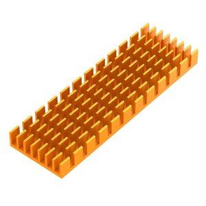 الألومنيوم M.2 غرفة التبريد برودة بالوعة الحرارة الحرارية لاصق موصل NGFF NVME PCIE 2280 SSD القرص القرص الصلب