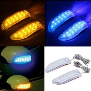13smd side mirror led turn signal light Car mirror turn signal rearview lights blinker for all cars