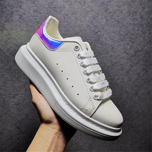 2021 Top Qualité Noir Chaussures Casual Casual Casual Lace up Bleu Blue Velet Sneakers Baskets Mens Femmes Femmes Femmes Gros chaussures de plateforme de stabilité extrêmement durable
