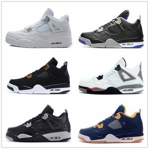 4s Classic 4 pure money shoes royalty thunder bred white cement men women sneakers Michael Sports shoes US sizes 5.5-13