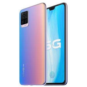"""Оригинальный Vivo S7 5G мобильного телефон 8GB RAM 128GB 256GB ROM Snapdragon 765G окт Ядро 64MP AR 6,44"""" Полный экран отпечатков пальцев ID лицо сотового телефон"""